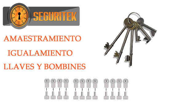 amaestramiento de llaves y bombines