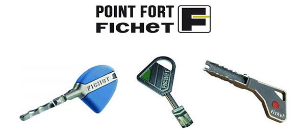 El patrón de las llaves Fichet es diferente al resto