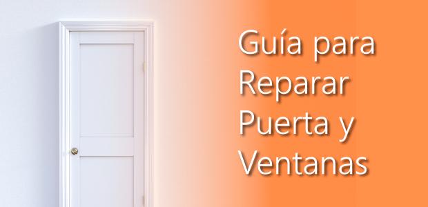 guia reparar puertas y ventanas