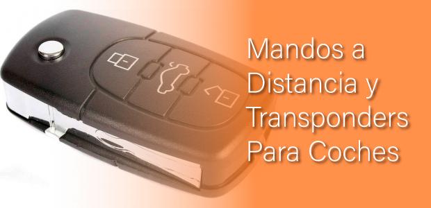 mandos a distancias y transponders